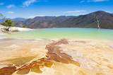 Fototapety Hierve el Agua, thermal spring in Oaxaca (Mexico)