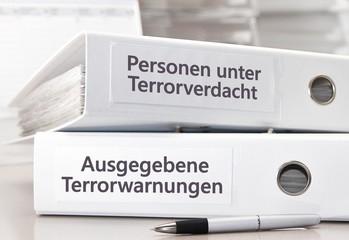 Terror / Warnung Akten