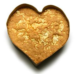 Love shaped cake Dragoste tort în formă de