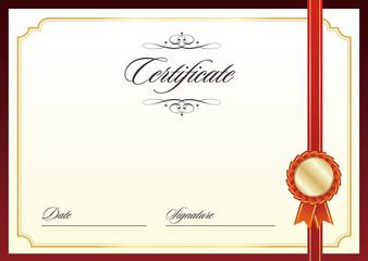 certificate template 証明書・表彰状