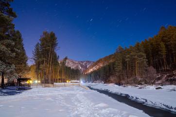 Ночной Алтай