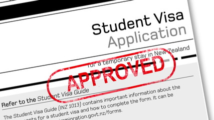 student visa approved