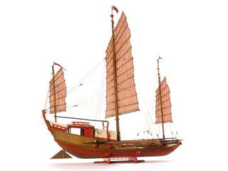 Dschunke - Modelbauschiff