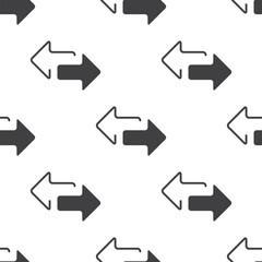 2 side arrow, vector seamless pattern .