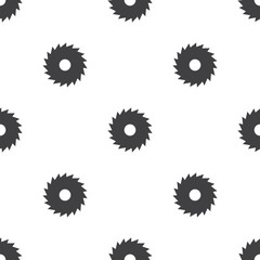industrial saw, vector seamless pattern .