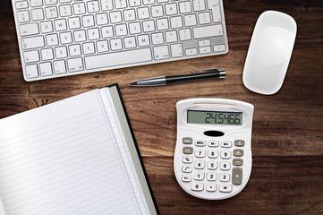 work desk calculator