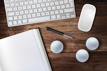 golf desk