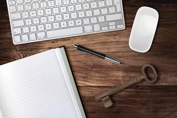 desk key