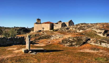Ruins in historical village of Castelo Mendo, Portugal