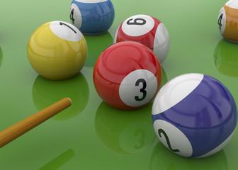 Billiards - 3D