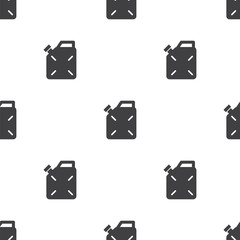 jerrycan, vector seamless pattern .