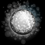 Fototapety Silver Disco Ball