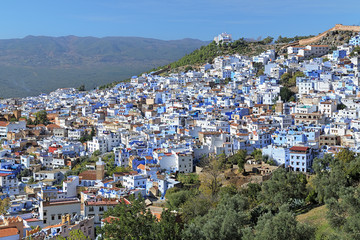 View of Chefchaouen, Morocco
