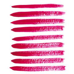 Magenta acrylic vector brush strokes