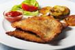 Wiener Schnitzel mit Bratkartoffeln