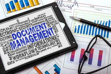 document management word cloud