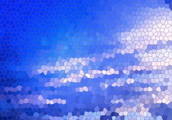 fondo de formas azules