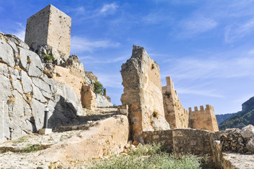 Ruins of the castle of La Iruela, Jaen (Spain)