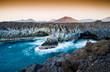 Leinwanddruck Bild - Los Hervideros, Lanzarote