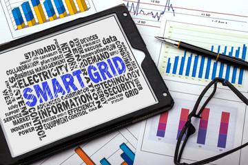 smart grid word cloud