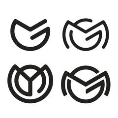 M G logotype