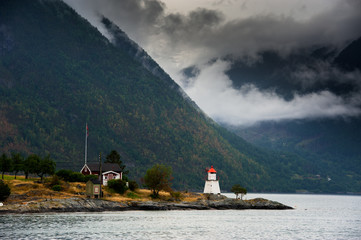 The Beautiful Norway landscape at summer