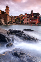 Village de Vernazza en Italie