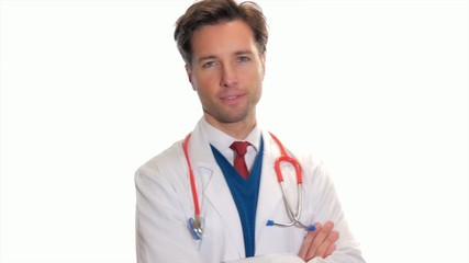 portrait of a young medical doctor