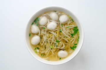 noodles with meat ball
