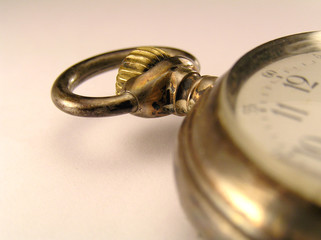 Old watch close up