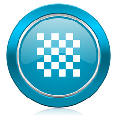 chess blue icon