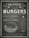 Burger poster - 75961194