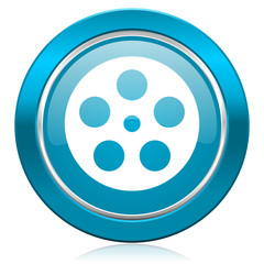 film blue icon