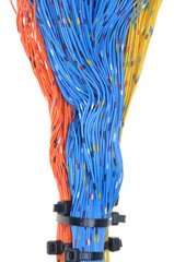 Network cables, transmission of data in telecommunications