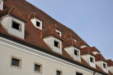 Dach mit Gaupen