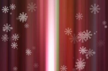 red Bokeh light motion blur background