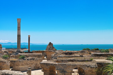 Ruins of Antonine Baths at Carthage