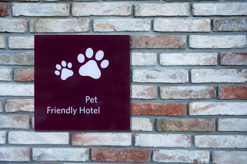 Pet Friendly Sign
