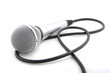 Leinwanddruck Bild - Modern microphone
