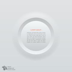 Business Concept  # Press Forming Circle, Speech Balloon