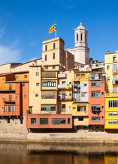 Girona in day time