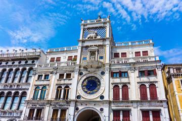 Piazza San Marko in Venice, Italy.  San Marko cathedral