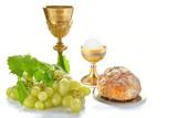 calici eurarestia comunione con pane e uva