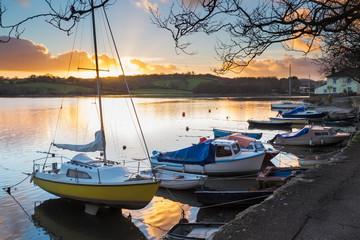 Sunset Truro Cornwall