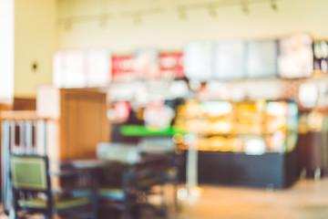 Blue restaurant background
