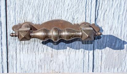 Doorknocker on allwood door