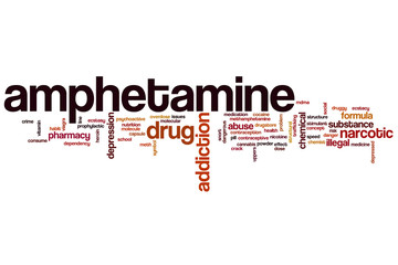Amphetamine word cloud