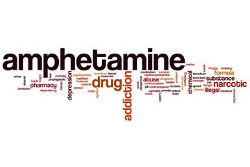 Amphetamine word cloud