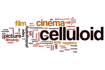 Celluliod word cloud