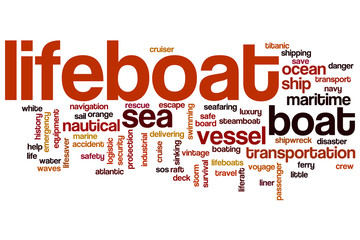 Lifeboat word cloud